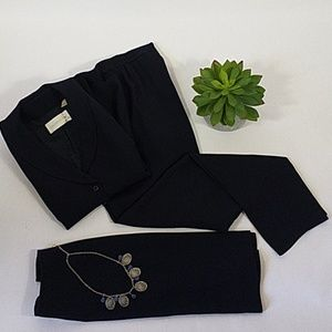 Dana Buchman 3 piece Suit Pant Skirt Sz 6